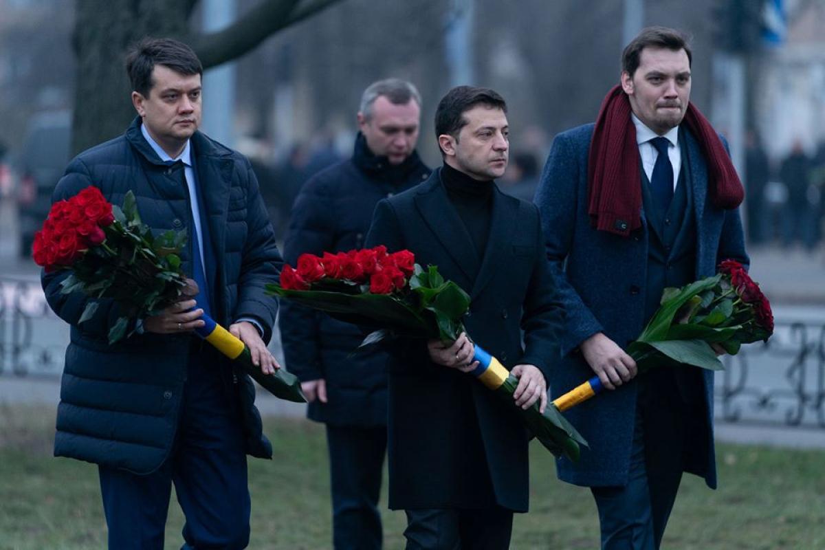 Зеленский был замечен в центре Киева в День памяти ликвидаторов ЧАЭС