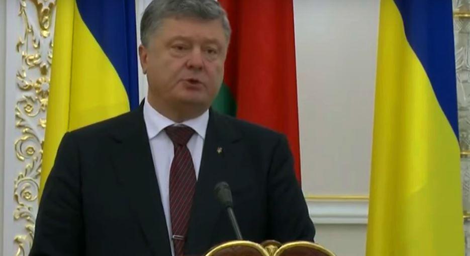 """""""Беларусь - надежный партнер, который всегда готов нас поддержать"""", - Порошенко назвал переговоры с Лукашенко успешными и плодотворными - кадры"""