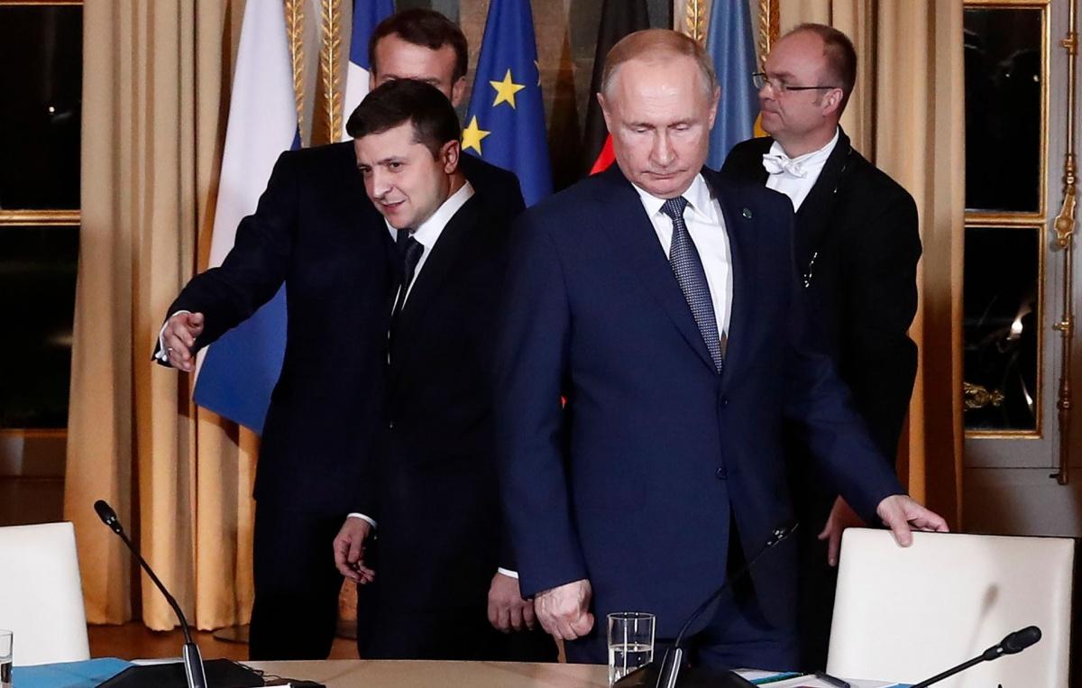 У Путина назвали условия для полноценного нормандского саммита и мира на Донбассе