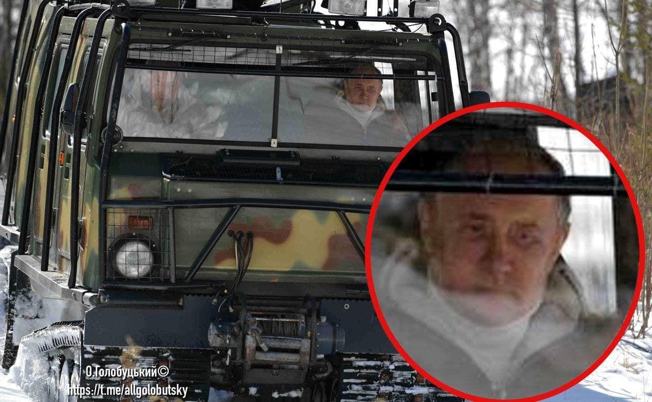 На фото из тайги заметили, что Путин сильно болен: мешки под глазами, опухшее лицо