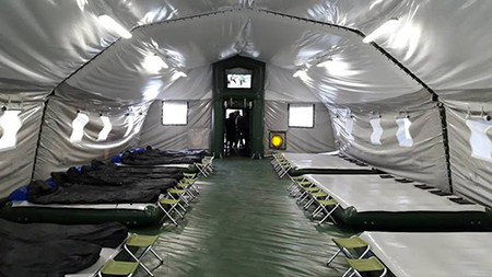 Арсен Аваков представил общественности новые ультрасовременные жилища для военных в зоне АТО