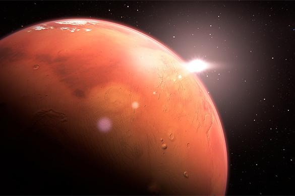 Ученым из NASA удалось зафиксировать настоящую базу НЛО на Марсе – кадры