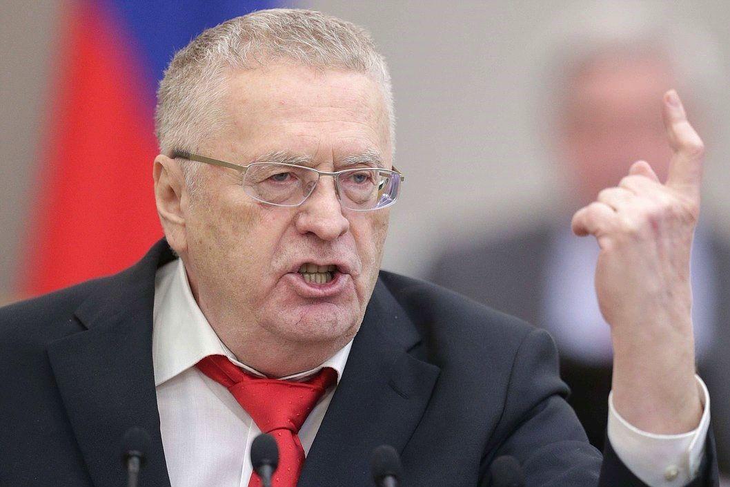 Жириновский предложил Кремлю пустить поезда к Украине, чтобы прятать тела погибших при вторжении