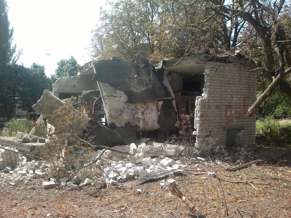 Трансформаторная подстанция Шахтерского района практически полностью уничтожена
