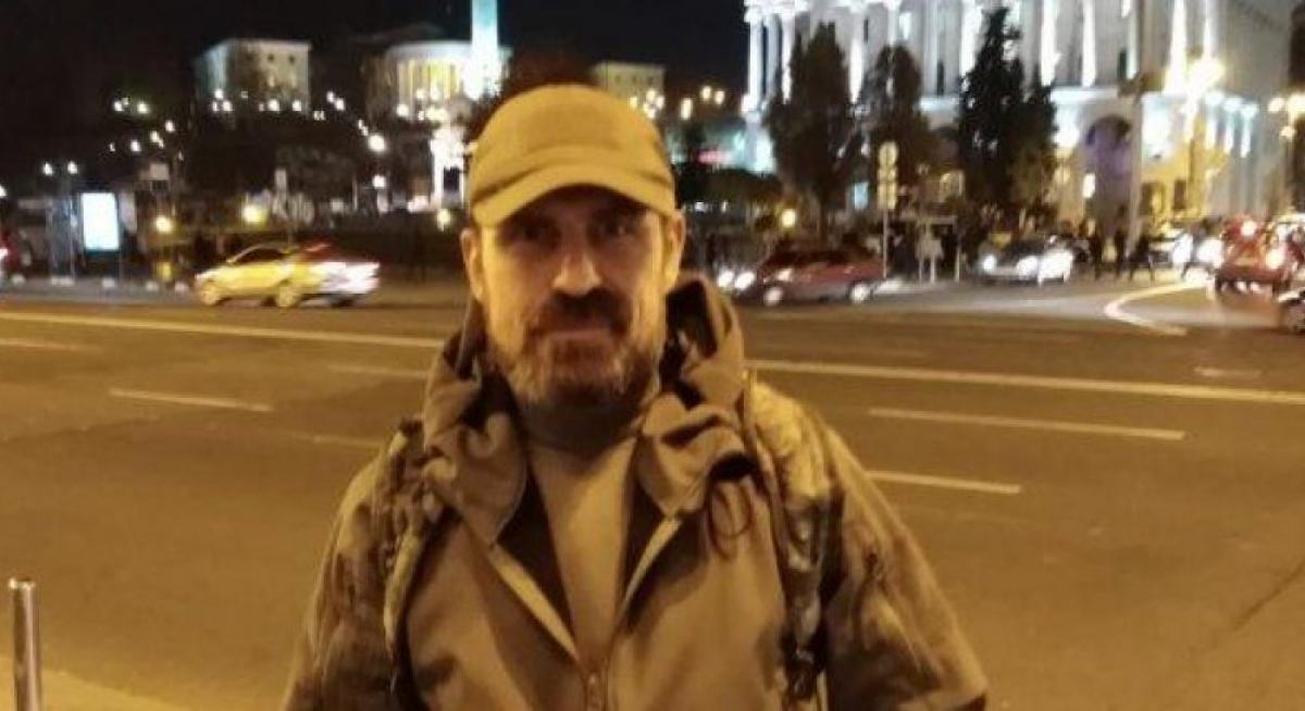 В Киеве попрощались с АТОшником Микитенко, совершившем самоссожение на Майдане: кадры