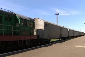 Поезд с останками жертв крушения «Боинга-777» прибыл в Харьков