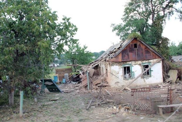 «Грады» полностью уничтожили донбасское село Степановка