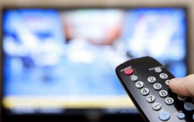 Четырнадцать российских каналов были запрещены к трансляции в Украине