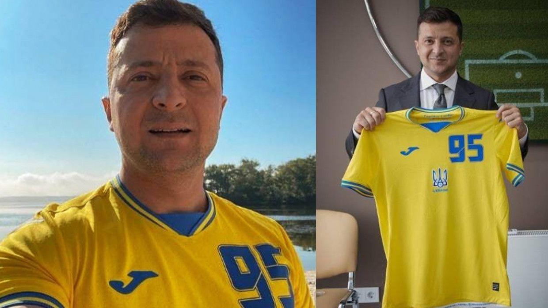 Зеленский позвонил в раздевалку сборной Украины после победы над Северной Македонией