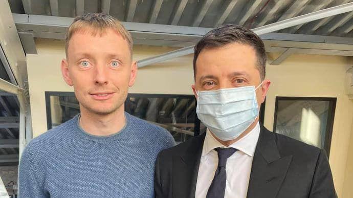 """Шарий получил """"привет"""": Кацуба возвращается в Украину после встречи с Зеленским"""