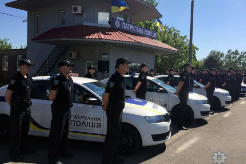Патрульная полиция Крыма и Севастополя начала свою работу