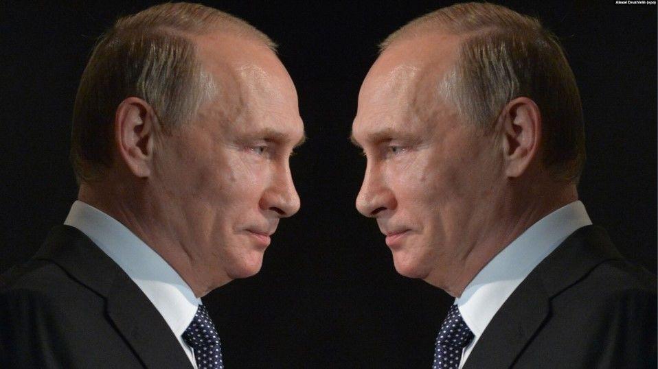 Путин есть и всегда будет старый чекист-оккупант с гранатой в руке