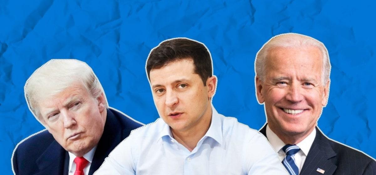 """Зеленский назвал разницу между Трампом и Байденом: """"Он лучше знает Украину"""""""