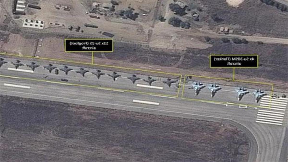 Беспилотники боевиков накрыли российскую базу Хмеймим в Сирии с воздуха: что произошло