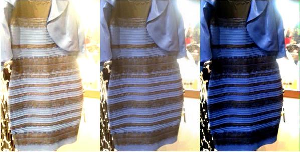 Черно-синее или бело-золотое платье? Ответ найден