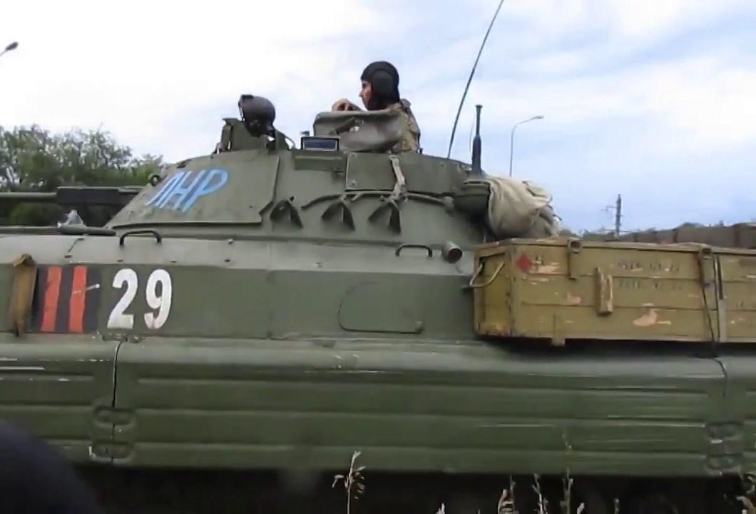 """Минус два террориста: """"ЛНР"""" несет потери даже в тылу - БМП врага утонула в реке, два оккупанта погибли - источник"""