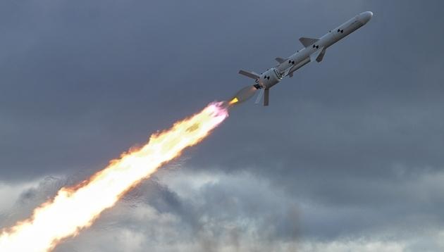 В Украине прошли испытания первой крылатой ракеты отечественной разработки - кадры