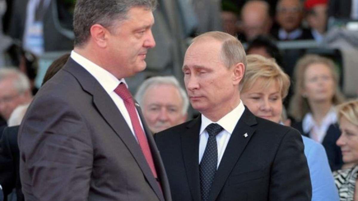 """Порошенко рассказал, как Путин в последний момент сорвал договоренности по Донбассу: """"У меня тогда с ним был разговор"""""""