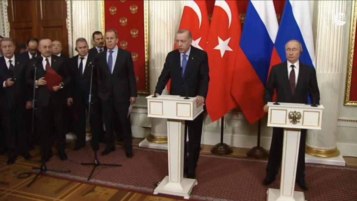 Лавров рассказал, о чем договорились Путин и Эрдоган по Сирии, — итоговая пресс-конференция