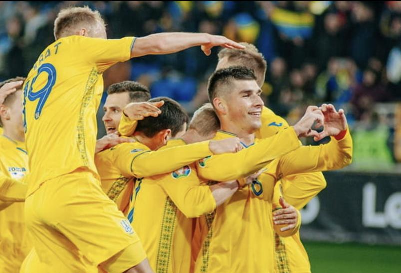 украина, Литва, футбол, чемпионат Европы, обзор, новости, спорт, малиновский, гимн, сборная