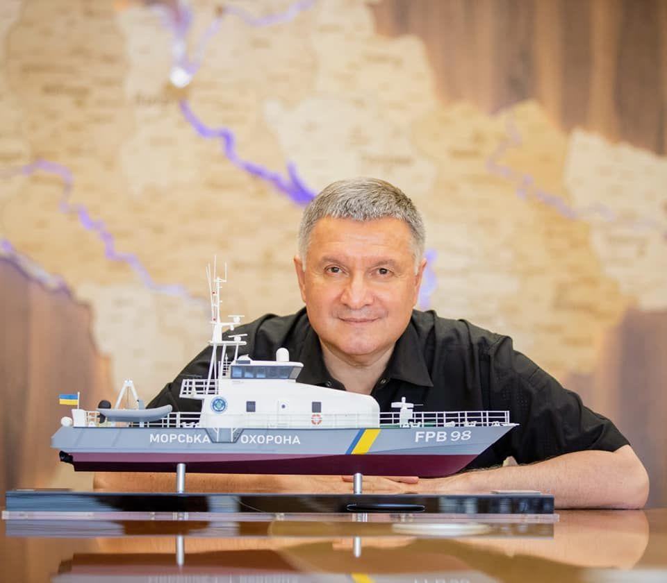 Аваков назвал дату спуска на воду первого катера OCEA FPB 98 для Морохраны