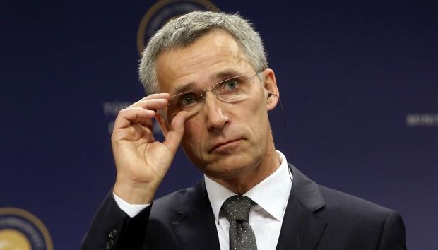 Столтенберг: НАТО не будет вести диалог с Россией, пока на Донбассе не остановится кровопролитие