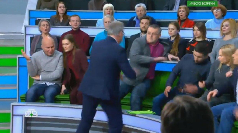 Суворов, Норкин, политика, конфликты, общество, происшествие, скандал, Бондаренко, НТВ, драка, Донбасс, Зайцево
