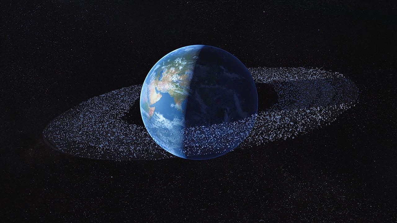 космос, Земля, кольцо, мусор, отходы, последствия, космическое пространство