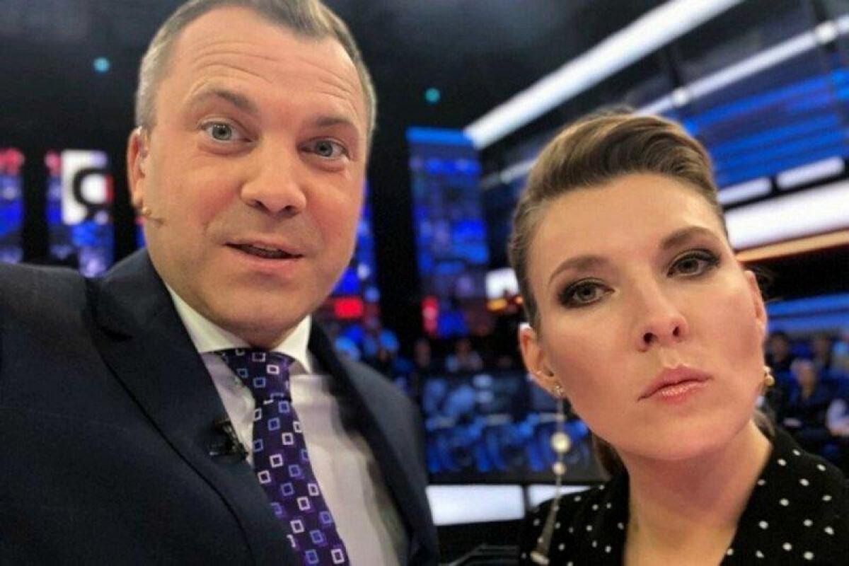 """Скабеева и Попов вышли из себя после заявления Гордона о """"подрывной деятельности"""""""