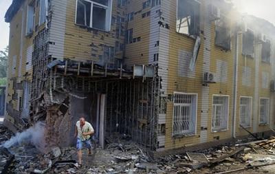 Горсовет Донецка: В результате обстрелов пострадали Киевский и Петровский районы