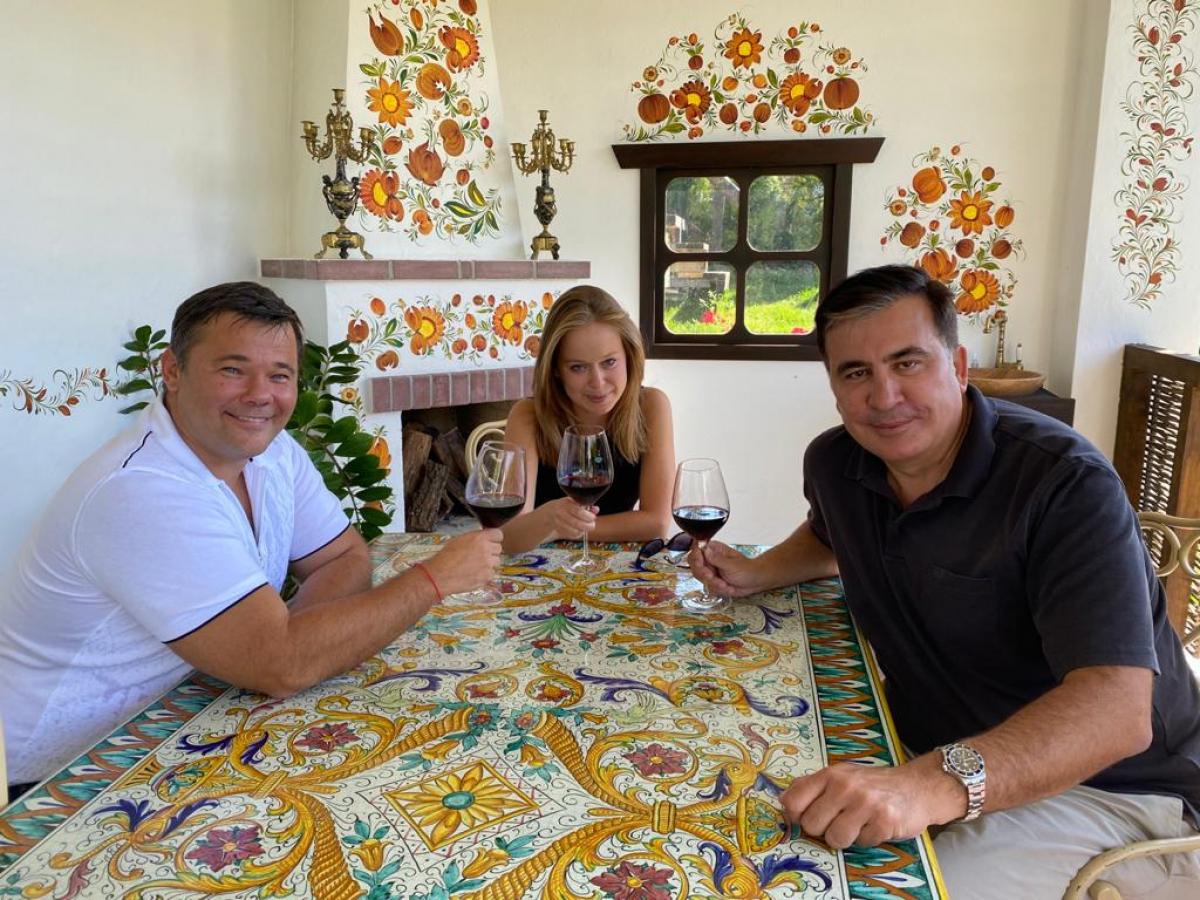 """Саакашвили о фото с Богданом: """"Хочу, чтобы это новое поколение было более успешным"""""""