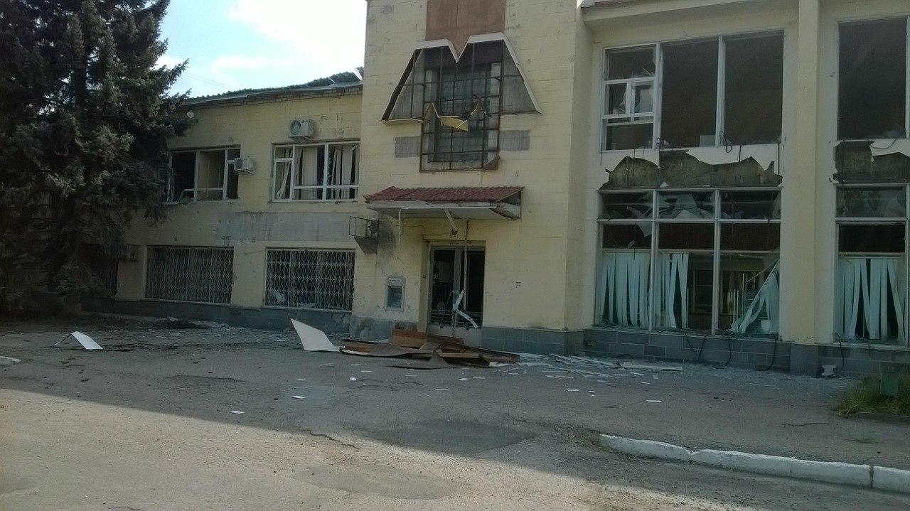В Луганске обстреляли химическое объединение