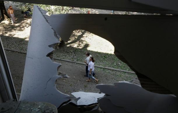 Как выглядят разрушенные жилые дома в Донецке