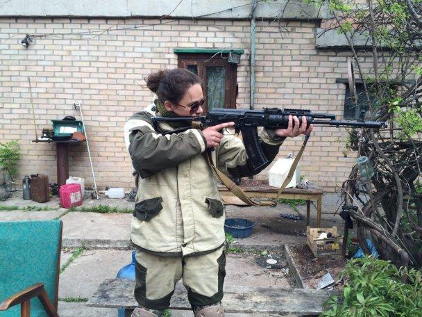 """Очередное уничтожение бойцами ВСУ оккупанта на Донбассе: ликвидирована 31-летняя террористка, служившая снайпером в батальоне """"Сомали"""" – кадры"""