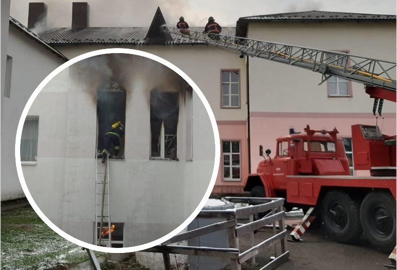 В Прикарпатье пожар в инфекционном отделении больницы – пациентов срочно эвакуировали