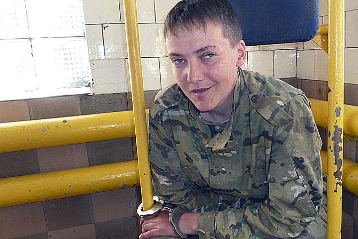 Россия рассмотрит изменение меры пресечения украинской летчице Савченко