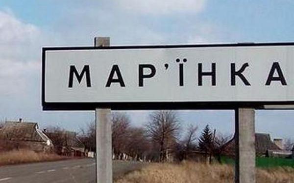 украина, донбасс, марьинка, обстрел, ато, происшествие
