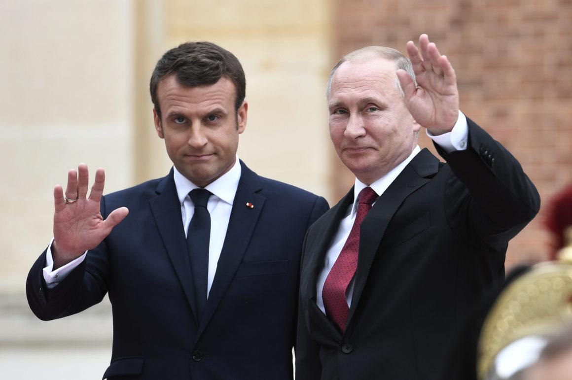 Россия, агрессия, украина, путин, макрон, франция, зеленский