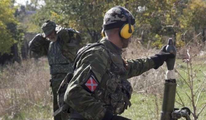 Пророссийские террористы осуществили ряд одиночных вооруженных провокаций по всей линии фронта в Донбассе – Штаб АТО