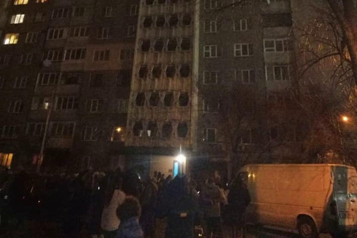 киев, пожар, жертвы, украина, гсчс, огонь