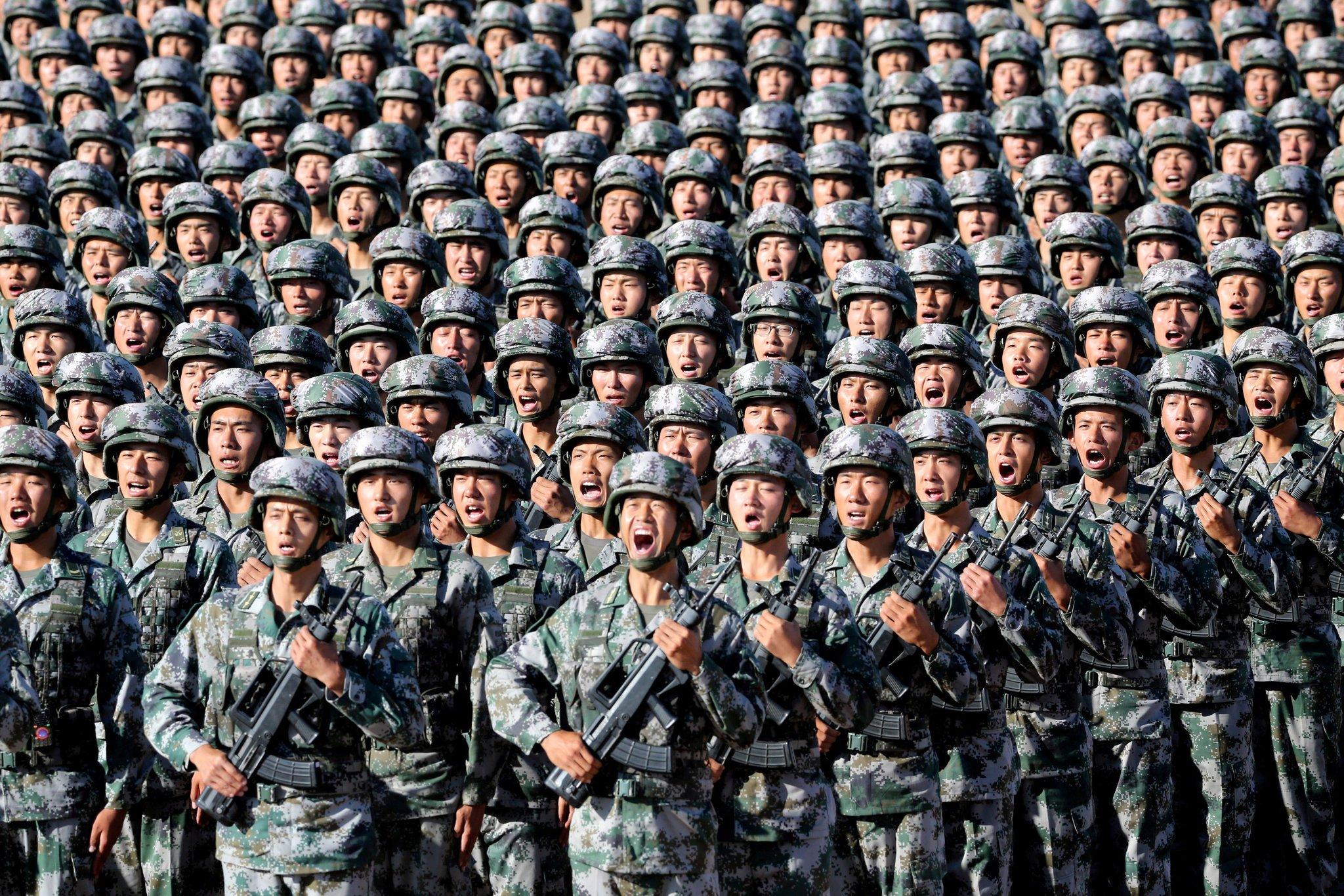 Картинки армия китая