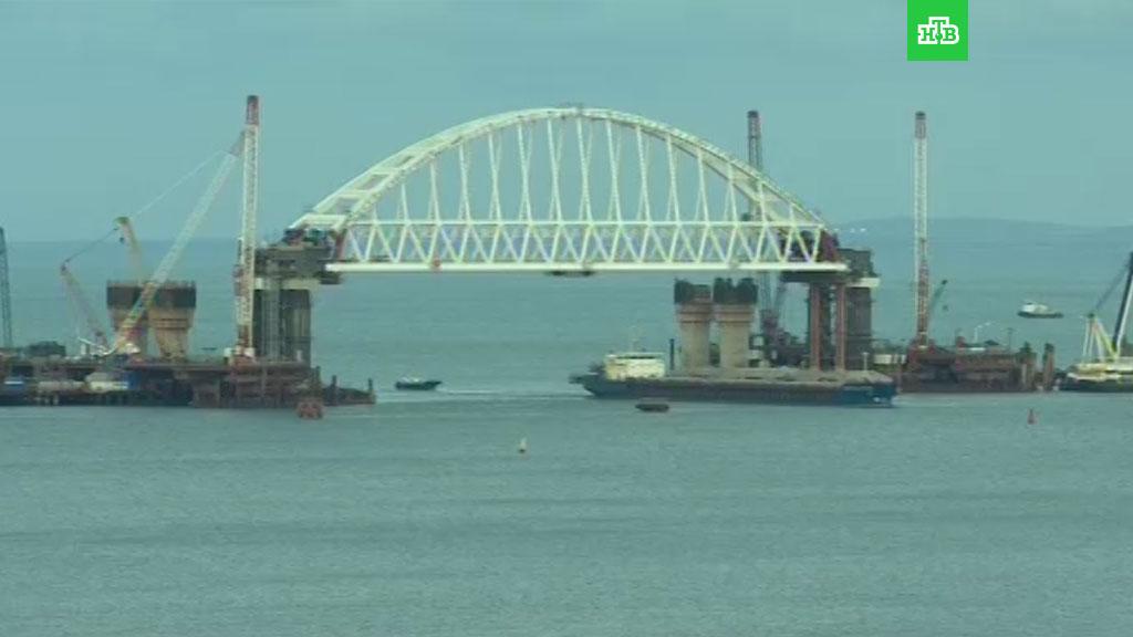 СМИ узнали о серьезных проблемах России с Керченским мостом: опубликованы фото крупной ошибки строителей