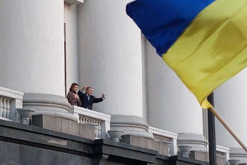порошенко, выборы в украине, выборы президента, выборы 2019, банковая, соцсети, фото, видео