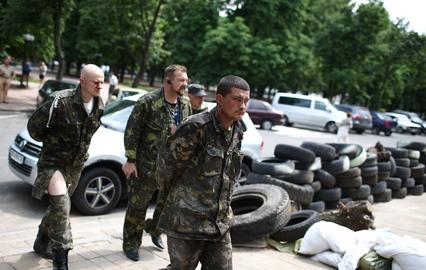 ДНРовцы отдали еще 15 пленных военных украинской стороне