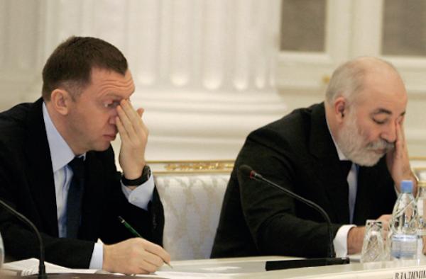 Олигархов Путина не пускают в Давос: Дерипаска, Вексельберг и Костин окончательно персоны нон грата