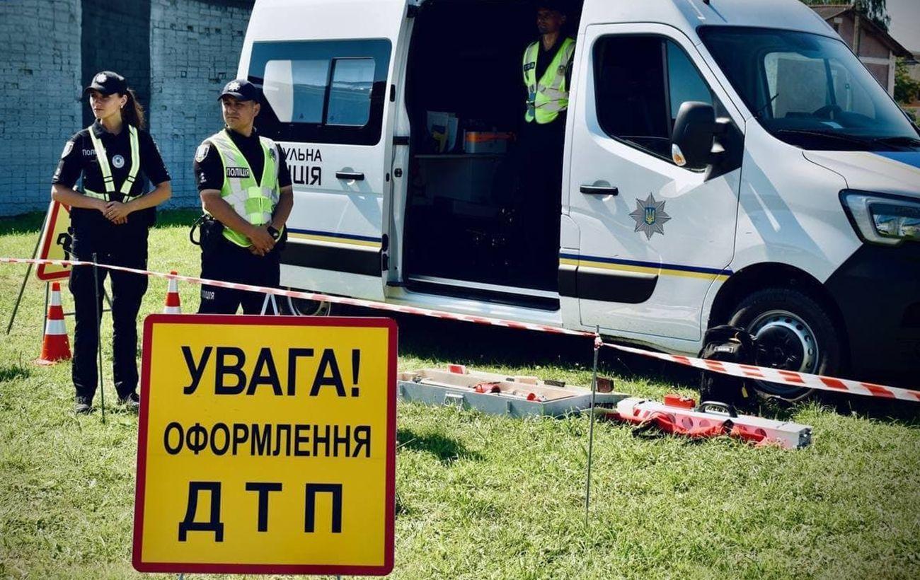 """На Ровенщине перевернулся автобус с пассажирами рейсом """"Киев - Вроцлав"""""""