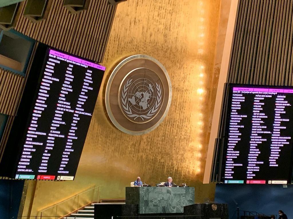 Генассамблея ООН рассмотрит вопрос оккупированных территорий Украины вопреки позиции РФ