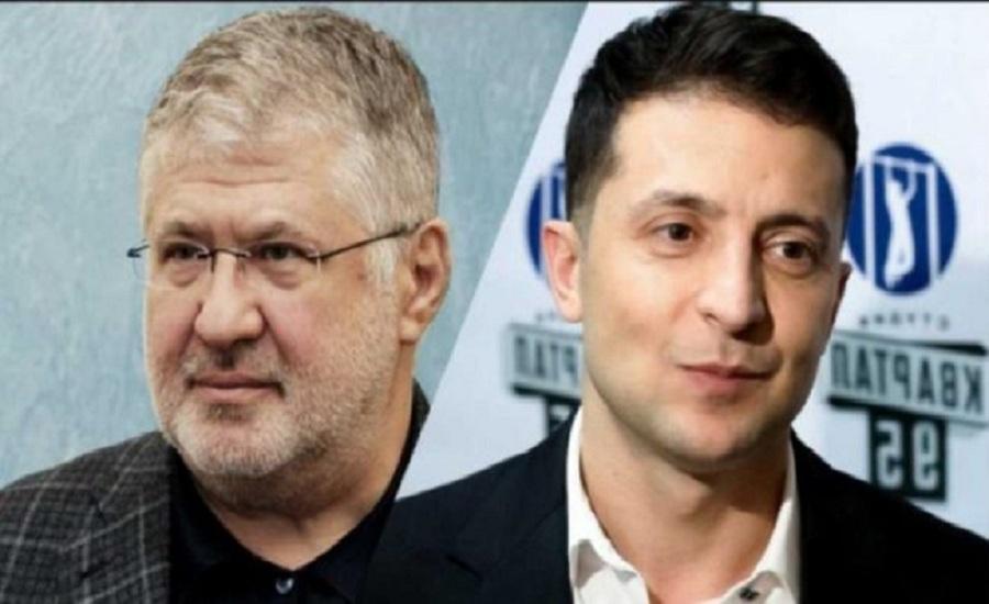 Украина, политика, выборы, зеленский, кандидат, коломойский, эфир, 1+1