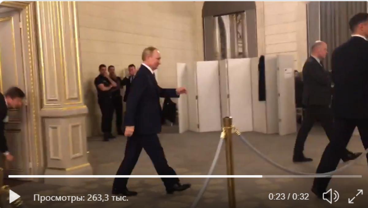Видео, туалет, украина, зеленский, путин, трамп, нормандская, четверка