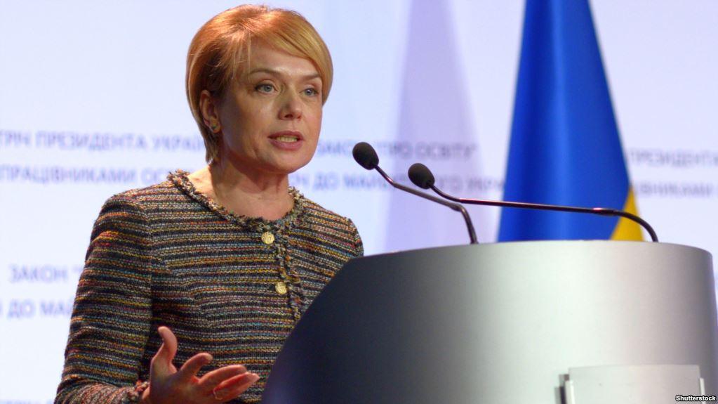 Донбасс стал большим уроком для нас: глава Минобразования Гриневич заявила в штабе НАТО, что в тех местах Украины, где нет украинского языка, есть опасность сепаратизма